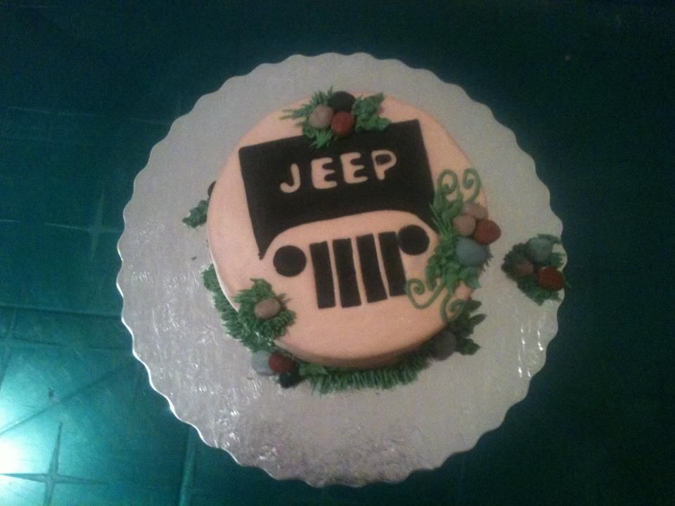 Jeep cake Cup Cake Toppers Pinterest Jeep cake Cake and Cake