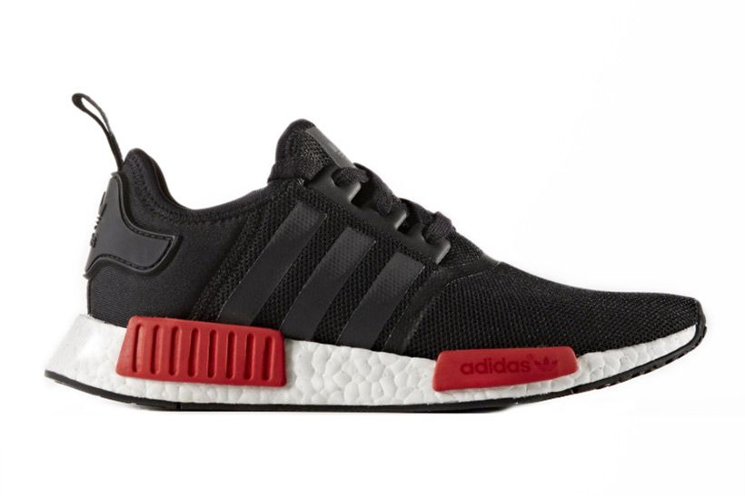 0694b1abee7f7 adidas s NMD Silhouette to Release in Wildly Popular Black Red Color Combo
