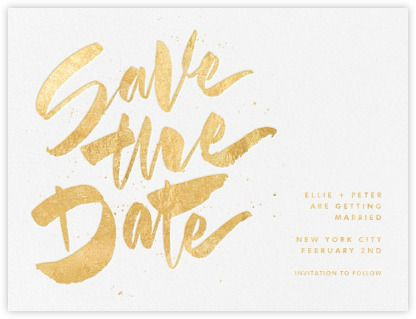 Johanna Iii  Paperless Post  Save The Date Card