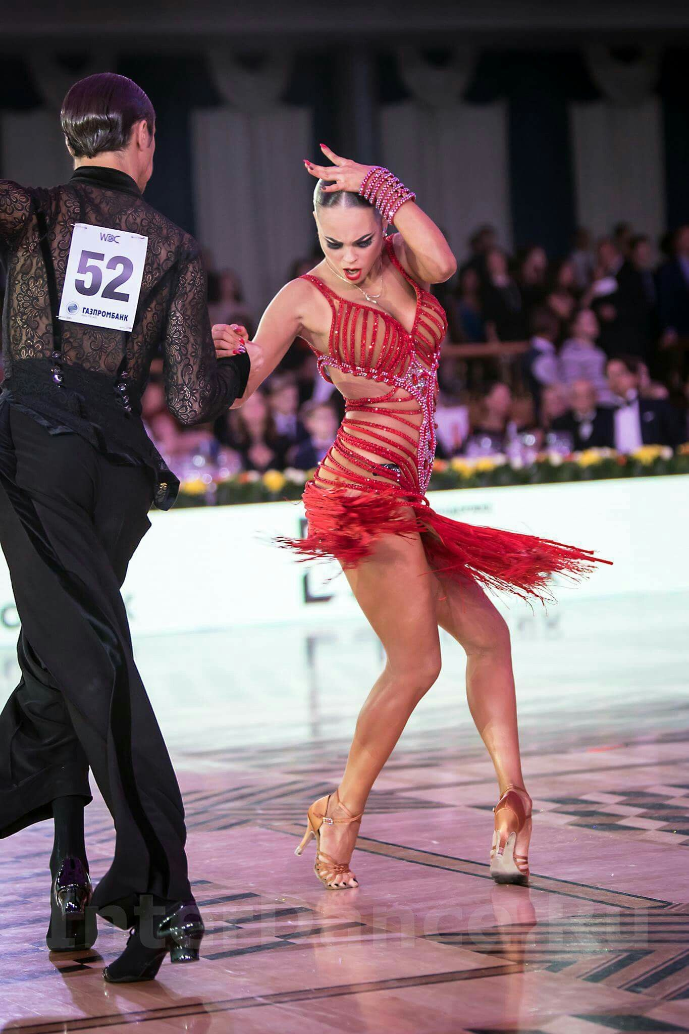 example of a dress appropriate for rhythm dances(cha cha ...