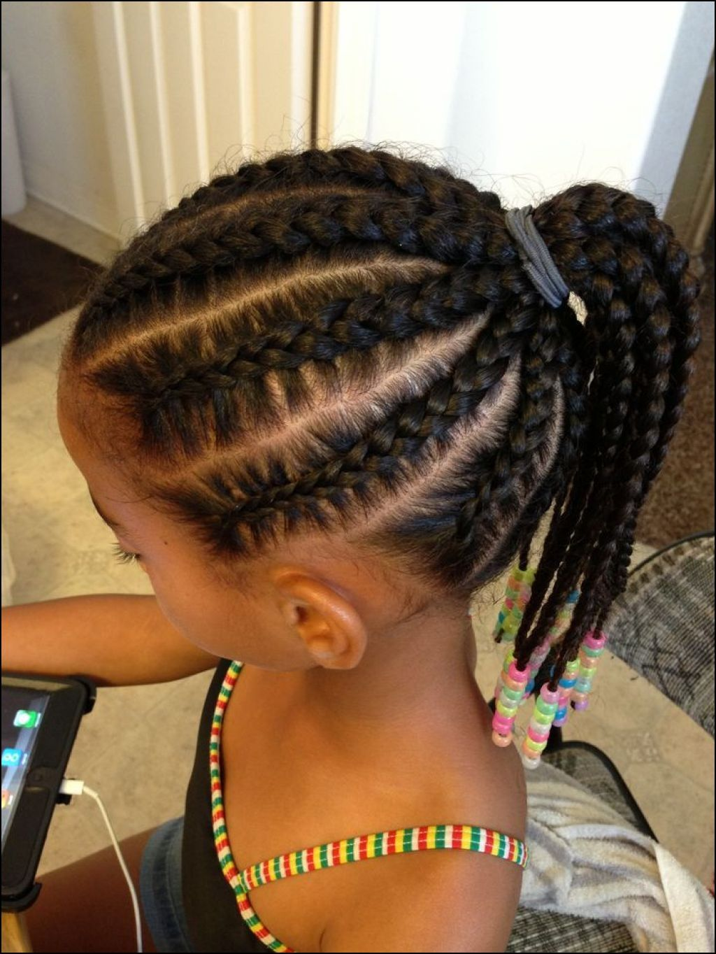 Cornrow Braid Hairstyles for Kids | Hairstyles Ideas | Pinterest ...
