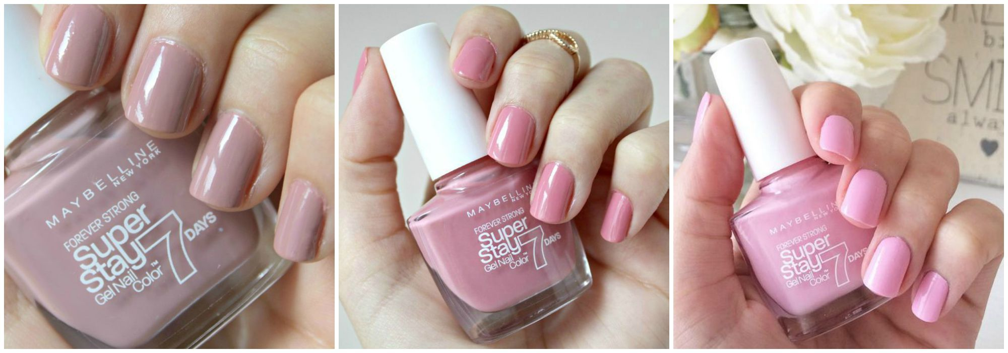 Maybelline Superstay 7 Day Nail Colours The Swatches Maybelline Nail Polish Nail Colors Nails