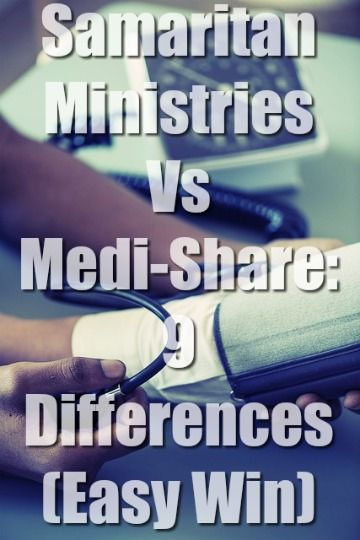 Samaritan Ministries Vs Medi Share Pinterest Bible Savior And