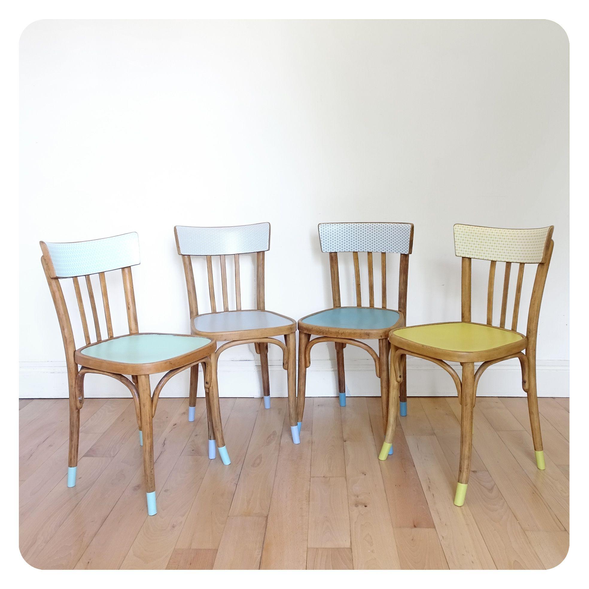 4 Chaises Vintage Chaise Vintage Chaise 4 Chaises