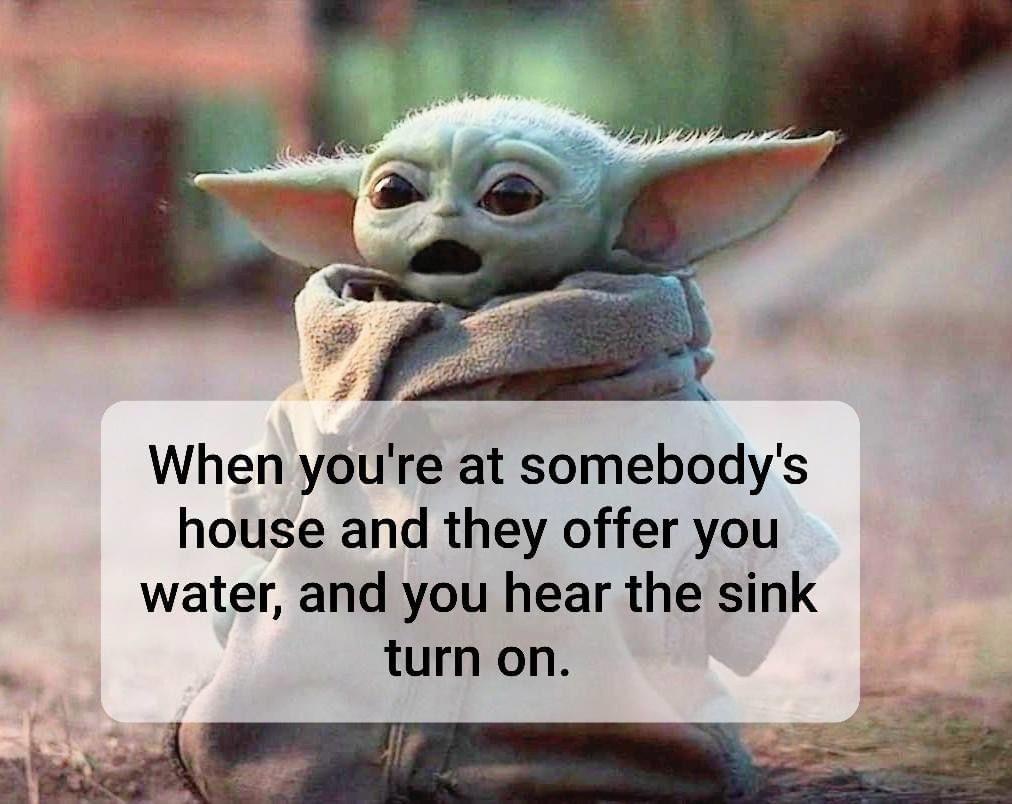 Baby Yoda Yoda Funny Yoda Meme Instagram Funny