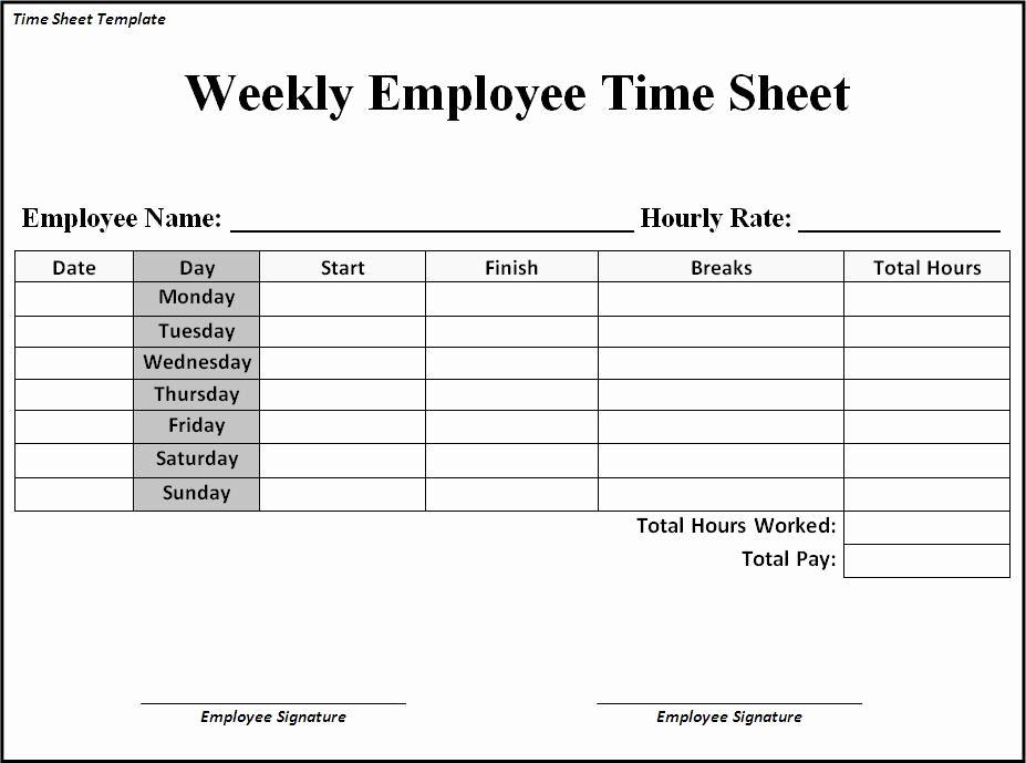 Printable Bi Weekly Time Sheets Timesheet Template Time Sheet Printable Templates Printable Free