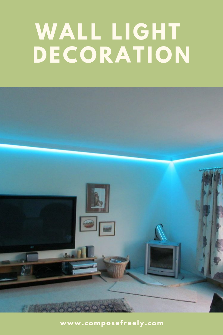 Creative Wall Ideas With Dazzling Lights Wall Art Lighting