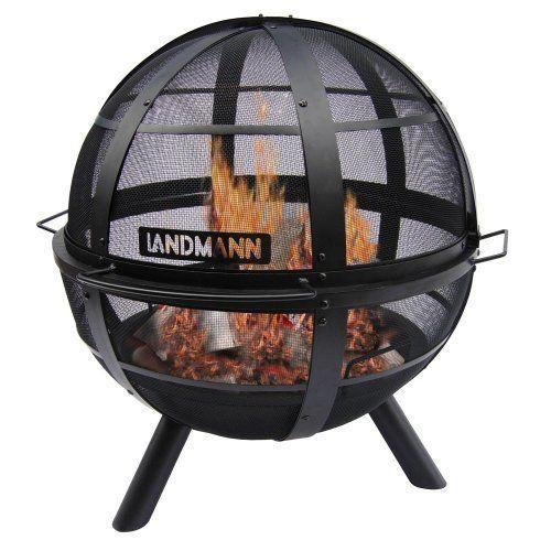 Amazon.com: Landmann USA 28925 Ball of Fire Outdoor Fireplace: Patio ...