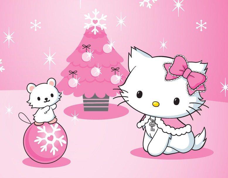 Christmas Hello Kitty Hello Kitty Merry Christmas Wallpaper Wallpapersafari Hello Kitty Christmas Hello Kitty Wallpaper Kitty