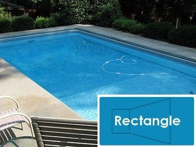 Complete 16\'x32\' Rectangle InGround Swimming Pool Kit with Polymer ...