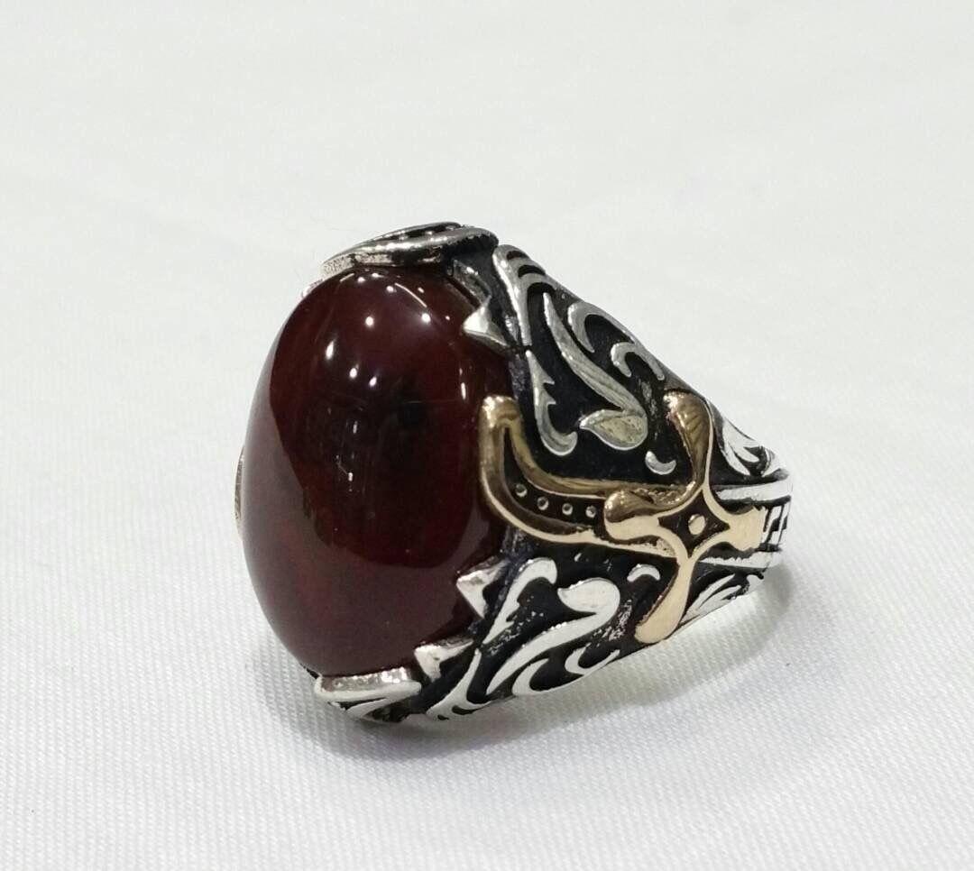 Ring Silvers Yemeni خواتم خاتم فضة تركية اسطنبولية اليمن صنعاء بيع وشراء العقيق اليماني جملة وتجزئة Rings Gemstone Rings Gemstones