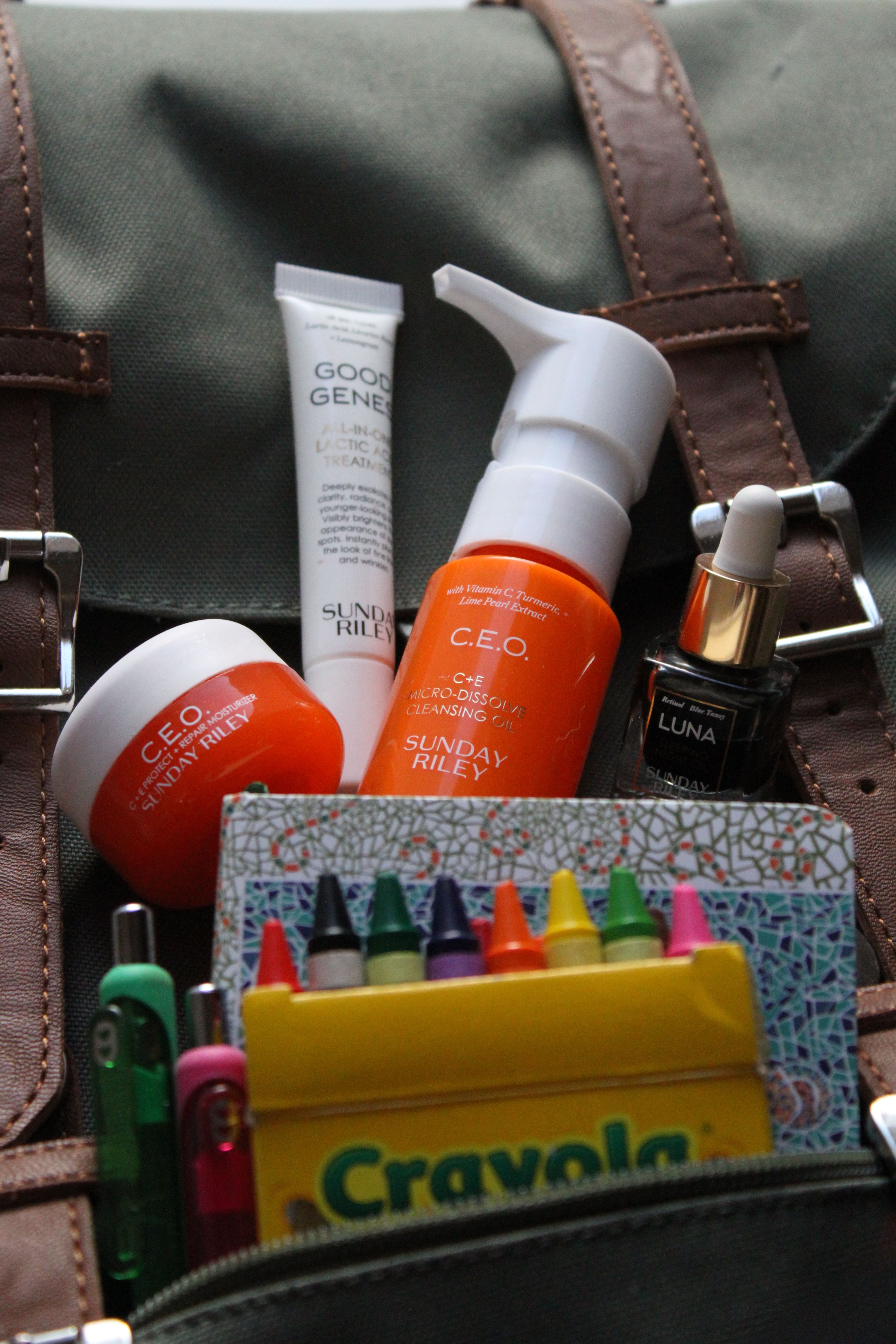 Skincare Review of Back to School Sunday Riley KIT