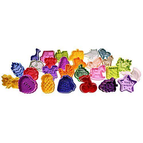 Set of 28 plastic plunger cookie cutters by Kurtzy TM Kurtzy http://www.amazon.com/dp/B00JOH8NXQ/ref=cm_sw_r_pi_dp_A3H2vb1RKM0JN