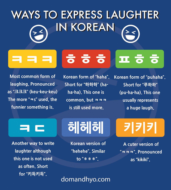 How to say lol in korean ㅋㅋㅋ korean language korean