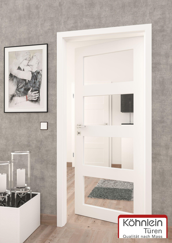 Weisse Turen Mit Lichtausschnitt Bei Lichtausschnitten Sind Auch Andere Aufteilungen Moglich Weisse Turen Innenarchitektur Wohnzimmer Kleines Schlafzimmer