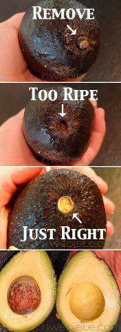 Avocado ripe?