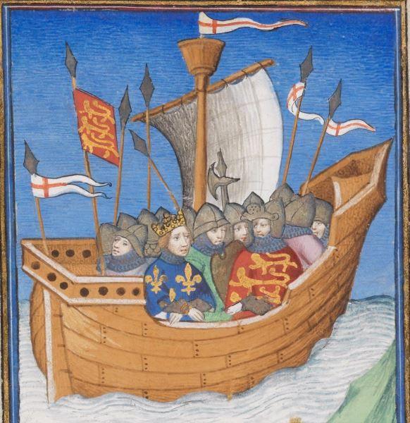 Giovanni Boccaccio, Des cas des nobles hommes et femmes Frankreich (Paris) · ca. 1410 Ms. fr. 190/2  Folio 188r