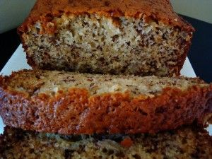 Sour Cream Banana Bread Recipe One Bowl Mel S Kitchen Cafe Recipe Sour Cream Banana Bread Banana Bread Recipes Banana Nut Bread