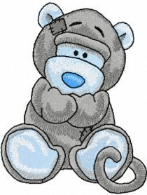 Giggles machine embroidery design. Machine embroidery design. www.embroideres.com