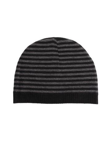 9593196988a Buy ETC Men Black and Grey Striper Skull Cap   Rs.249.