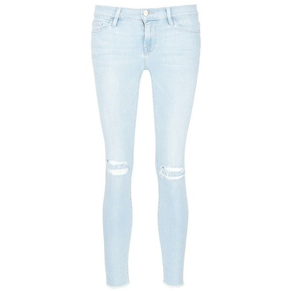 ripped skinny jeans - Blue Frame Denim Sast Cheap Online Discount New Sale Marketable Discount Clearance Discounts Cheap Online 4mIYanOX
