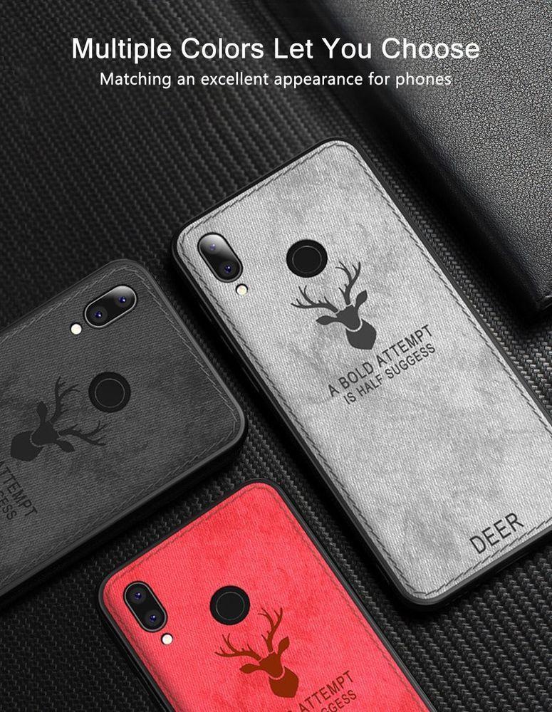 New Fashion Case For Xiaomi Redmi Note 7 Cover Soft Fabric Tpu Silicone Bumper Keajor Note 7 Fashion Case Case