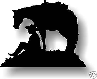 Rodeo Wildlife Items In Western Silhouettes By Cow Horse