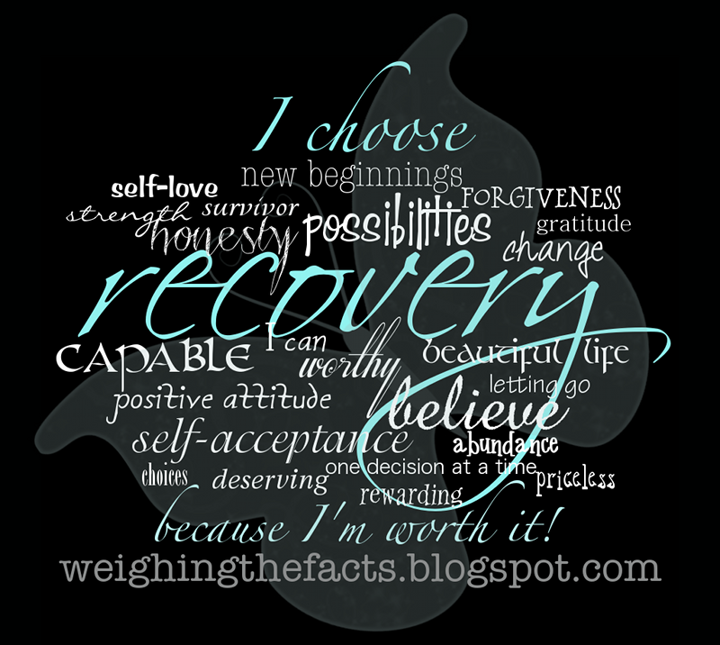 Weighing The Facts Recovery Inspiration I Choose