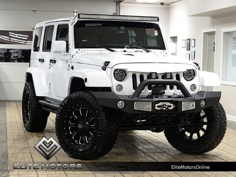 2015 Jeep Wrangler Unlimited Sahara In Mundelein Illinois White Jeep Wrangler Jeep Sahara White Jeep