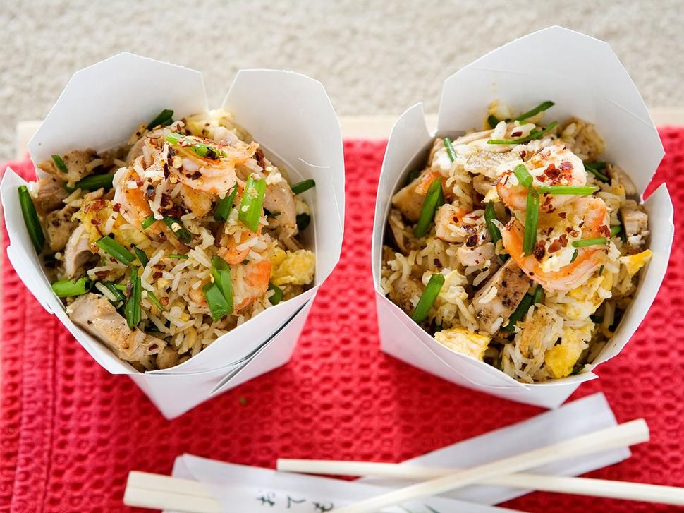 Egg Fried Rice Recipe With Chicken And Prawns Viva Yummy