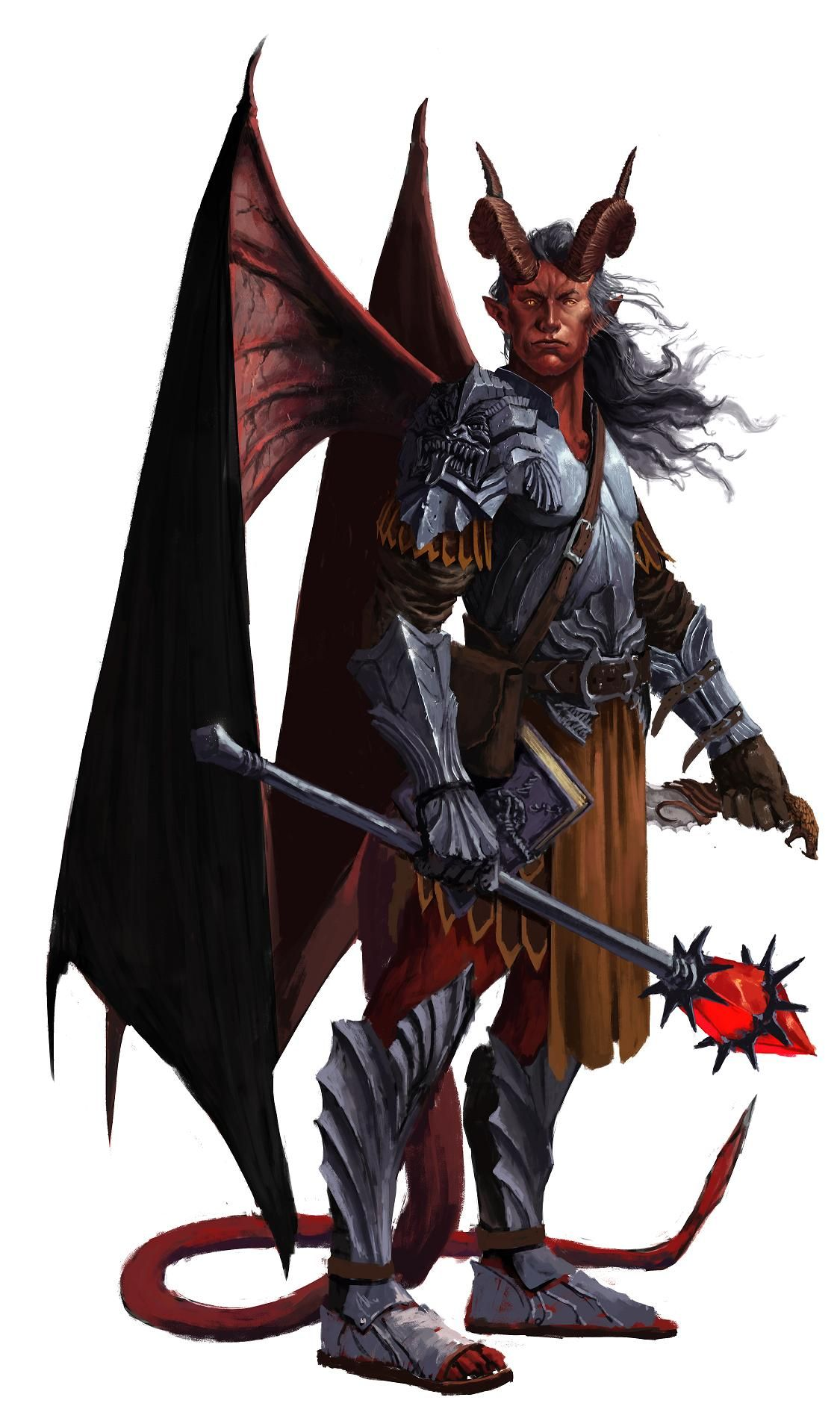 Adolican Mastermind Rogue Mystic Characters M Tiefling