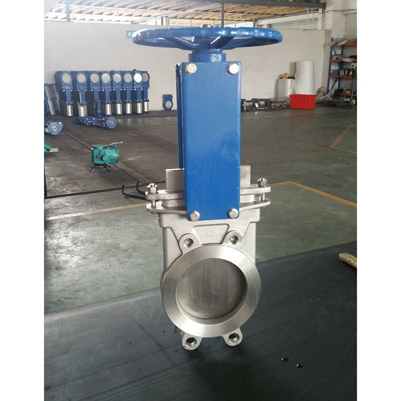 Stainless Steel Cf8 Cf8m Wafer Knife Gate Valve Gate Valve Stainless Steel Steel