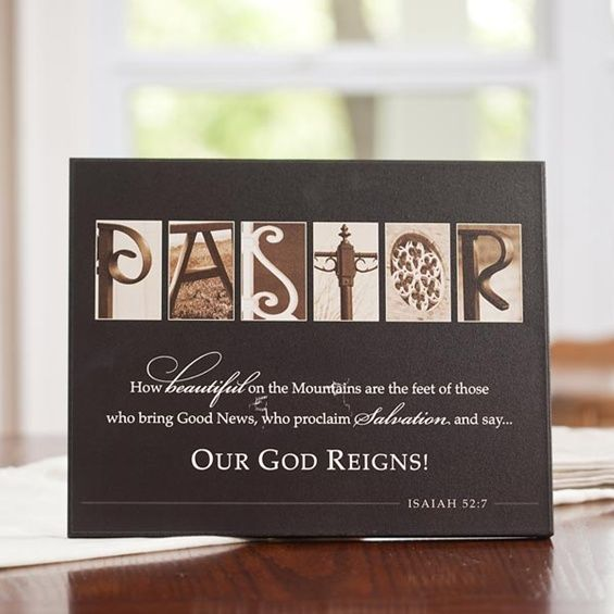 Pastor Appreciation Table Decorations Gift Ideas