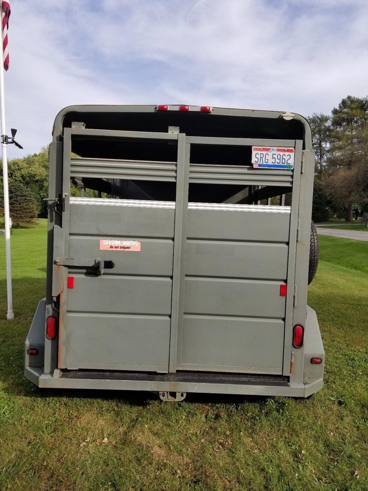 Corn Pro Stock Trailer Wiring Diagram Livestock Horse Bumper Pull Dressing
