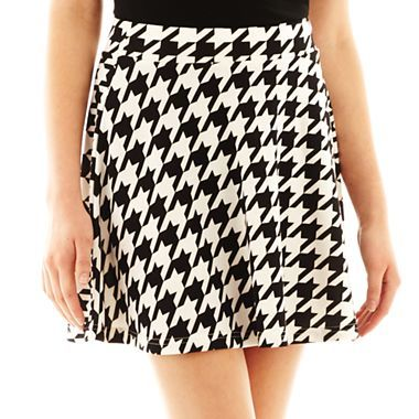 b87602d72 Decree® Skater Skirt - JCPenney | Trend We Love: Skater Skirts ...