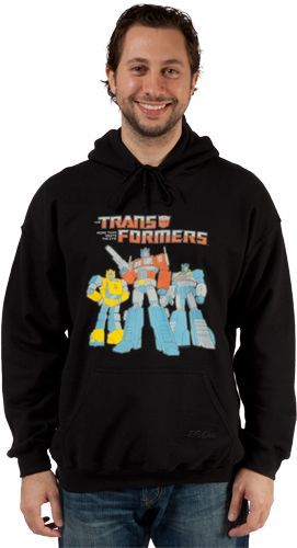 Autobot Trio Hooded Sweatshirt