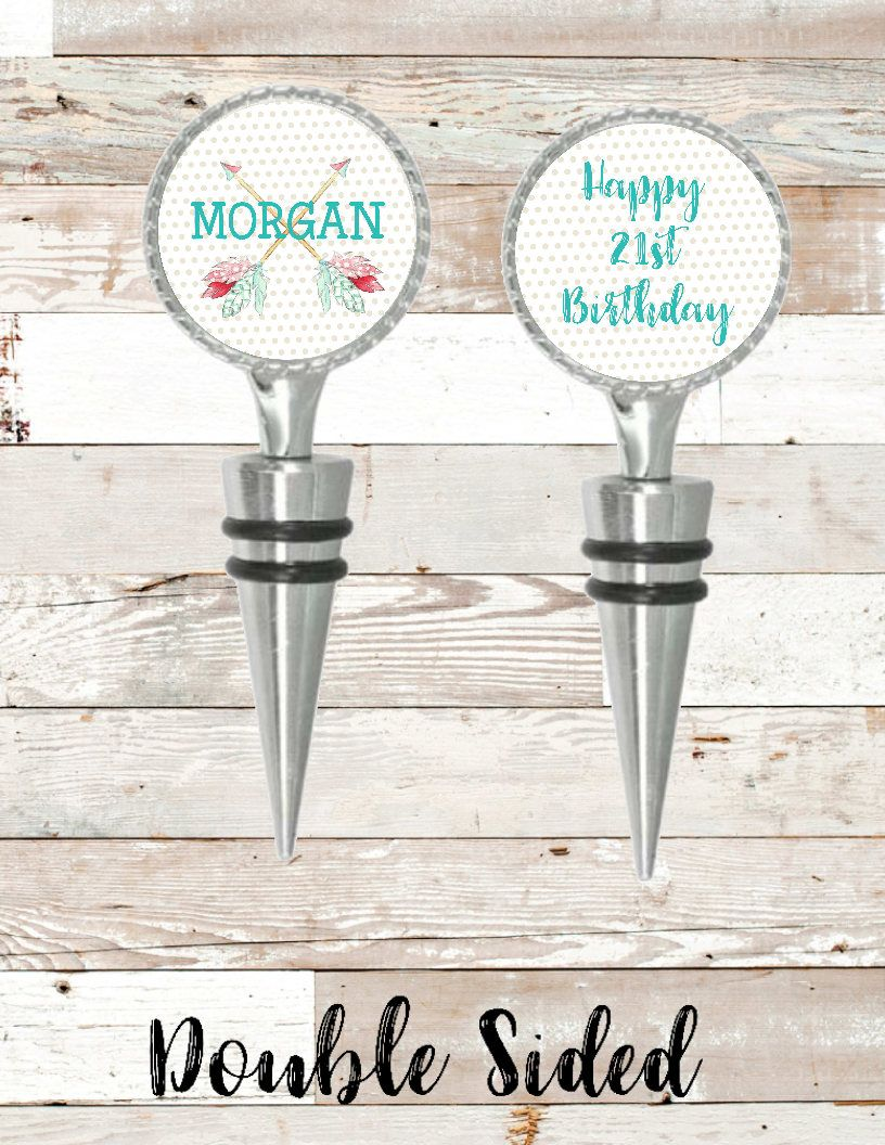 Birthday Gift, Wine Stopper, Wedding Gift, Mom and Dad Gift ...