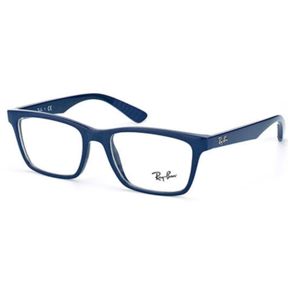 Óculos de Grau Ray Ban Masculino Liteforce Acetato Azul Escuro ...