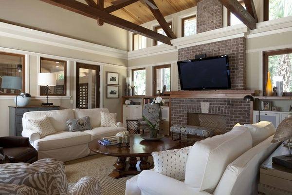 Gut Gemütliches Wohnzimmer Zimmerdecken Ideen
