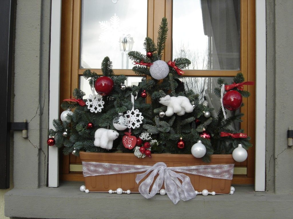 Mod le idee d co jardiniere noel jardini res idee deco for Decoration interieur noel