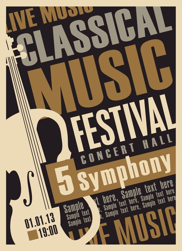 Image Result For Concert Poster Template