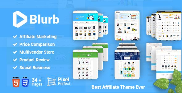 Blurb - Price Comparison, Affiliate Website, Multivendor Store and - product comparison template word
