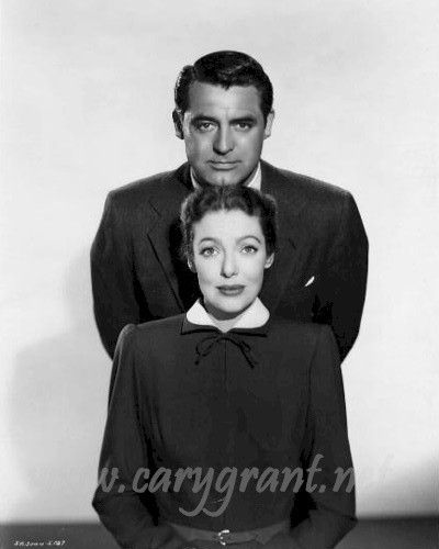 Cary Grant and Loretta Young in The Bishop's Wife(1947)
