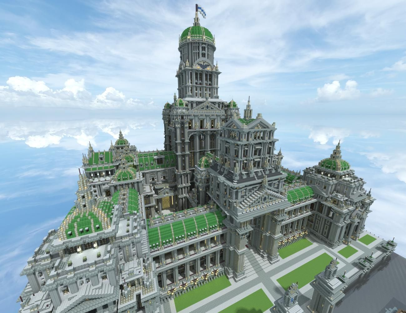 Top 12 minecraft creations!  Castelo minecraft, Criações