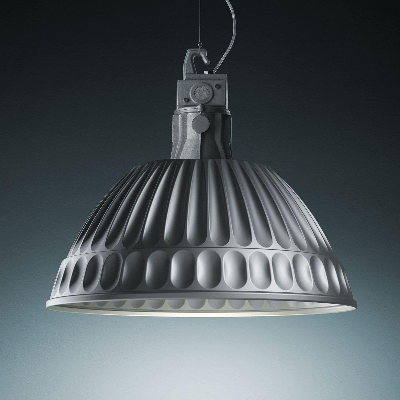 Fontana Arte Pudding Aluminum Interior Pendant Ceiling Light Complete Lamp    Fontana Arte From Lightplan UK