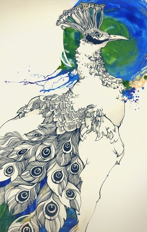 Ink drawings by Tatyana Kartasheva    Created with pencil, indian ink and acrylic on paper