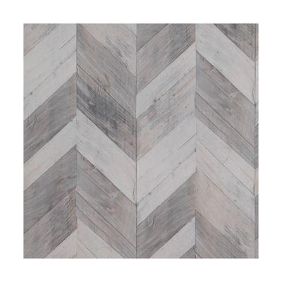 Walls Republic R466 Wood Weathered Herringbone Wallpaper ...