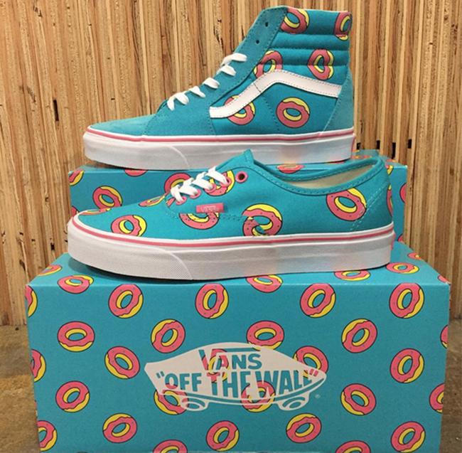 Odd Future x Vans 'Donuts' Pack