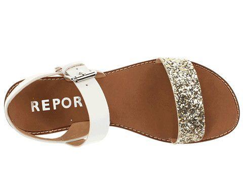 report glitter sandals
