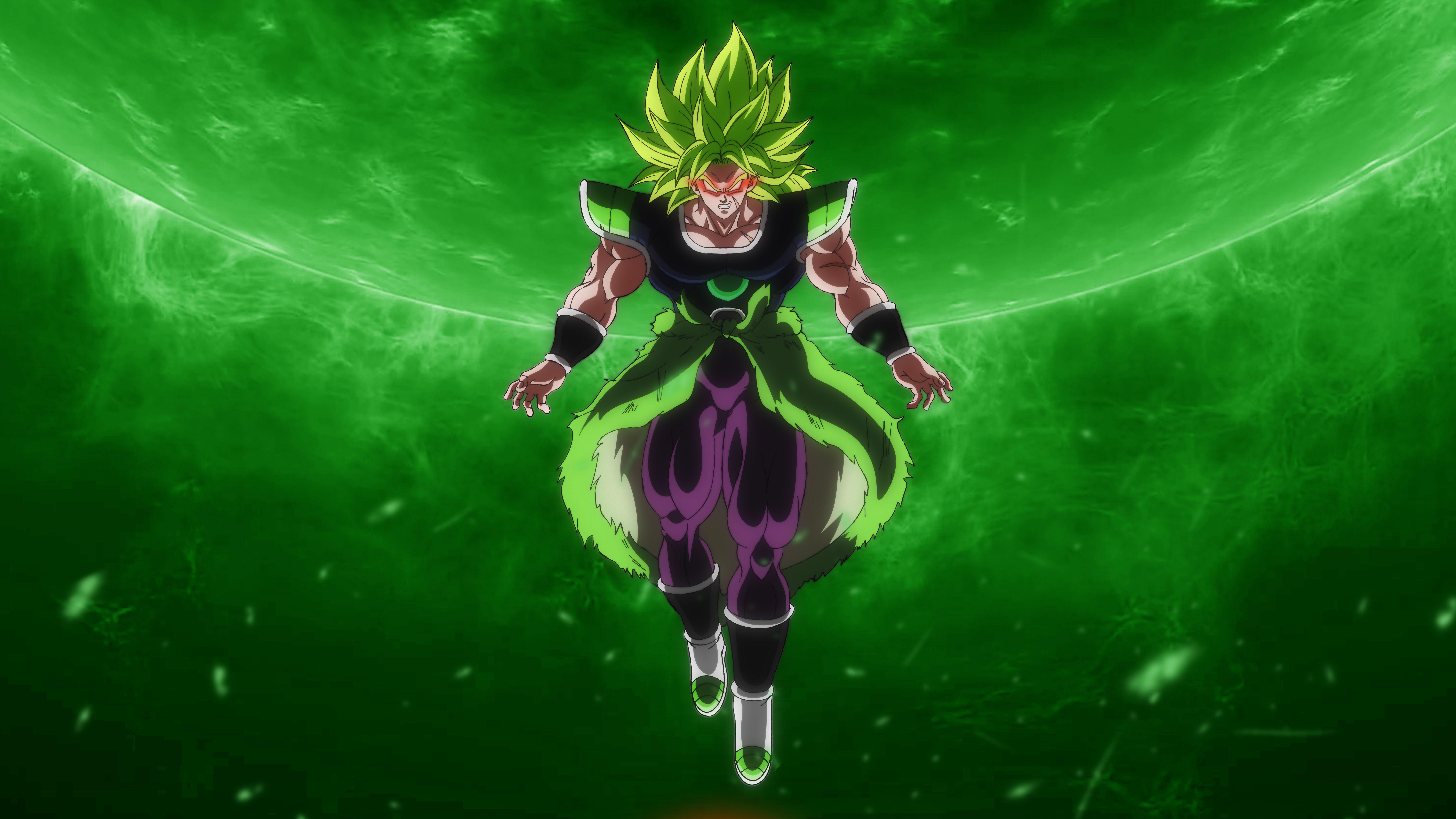 Broly Legendary Super Saiyan Dragon Ball Super Broly Movie 8k